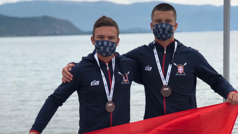 Балканско првенство 2021 — Филип Милановић и Никола Летић