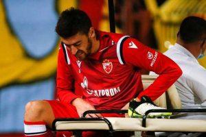 Милан Павков на утакмици против Пролетера на Маракани