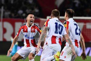 Победа Звезде над Брагом у Београду (2:1)
