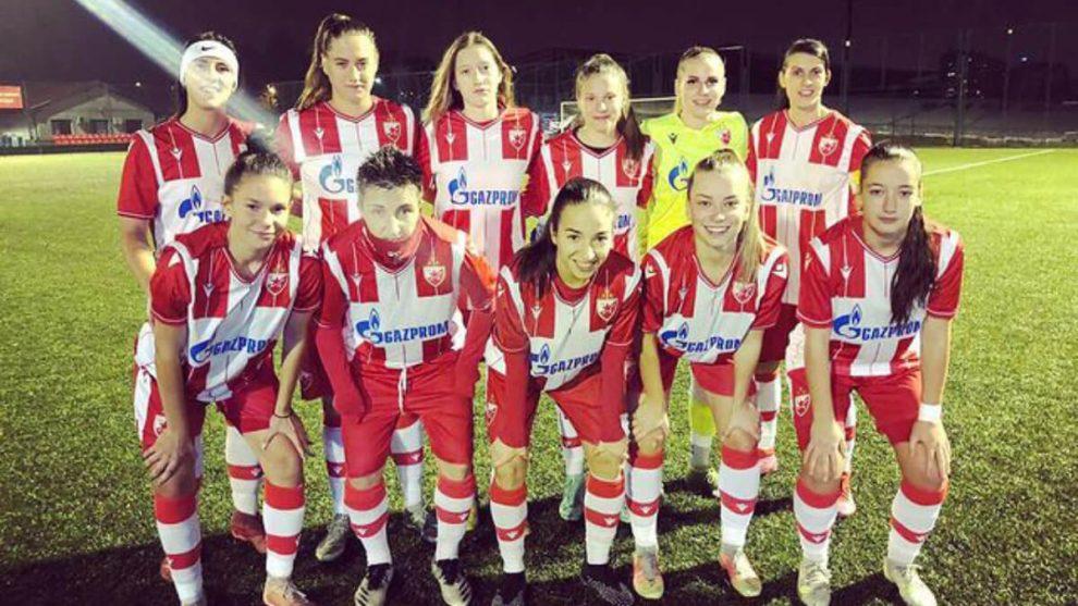 Тим ЖФК Црвена звезда за сезону 2021/2022